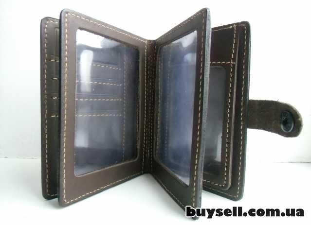Бумажник для водительских документов (натуральная кожа) изображение 5