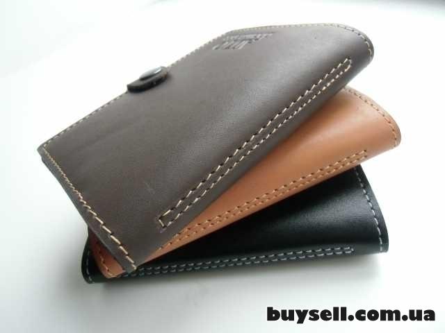 Бумажник для водительских документов (натуральная кожа) изображение 2