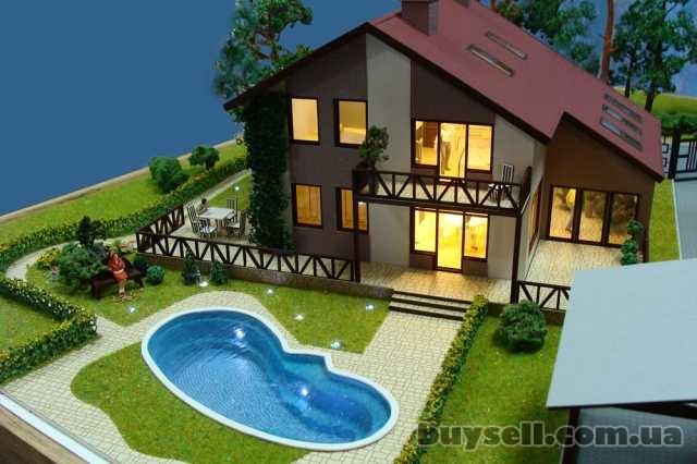 Изготовление архитектурных макетов домов