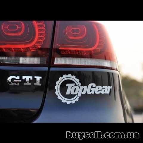 Наклейка на авто TOP GEAR Тюнинг изображение 5