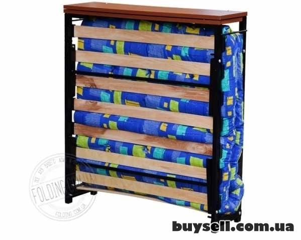 Кровать Раскладушка на Ламелях с Матрасом В Наличии Доставка  Сегодня изображение 2