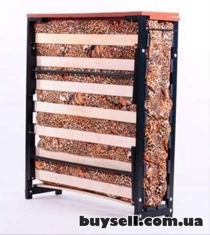 Кровать Раскладушка на Ламелях с Матрасом В Наличии Доставка  Сегодня изображение 5