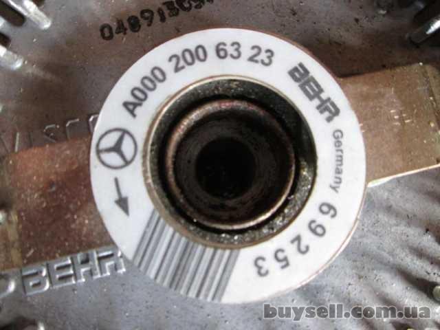 Вентилятор охлаждения двигателя Mercedes Vito w639 2. 2 CDI 2003-2010