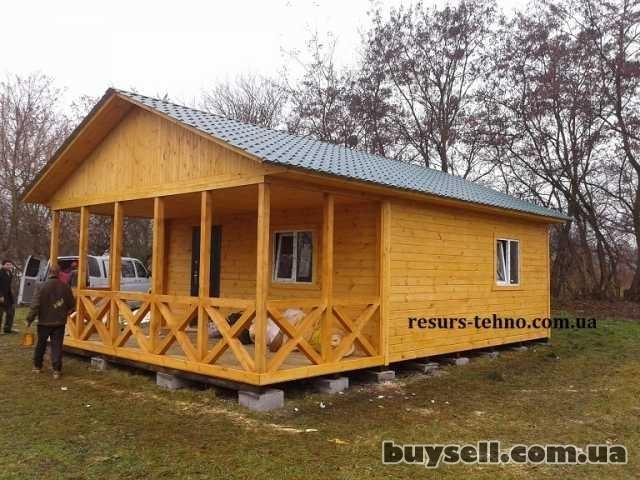 Дачные домики из дерева.    Бытовки. изображение 4