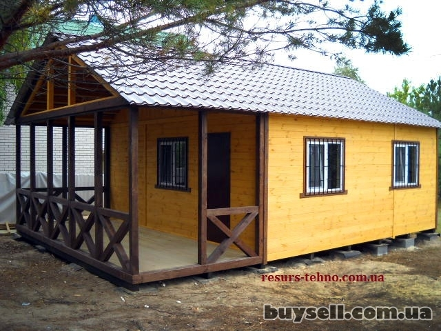 Дачные домики из дерева.    Бытовки.