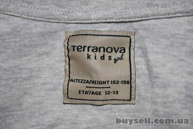 """Продам стильную б\у серую кофту ТМ """"Terranova"""" на девочку изображение 3"""