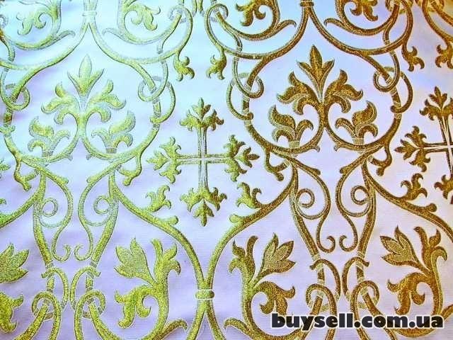 Распродажа церковной ткани - шелк и парча изображение 3
