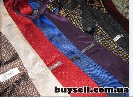 Фирменные галстуки мужские,     б/у. изображение 4
