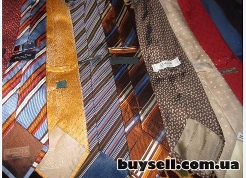 Фирменные галстуки мужские,     б/у. изображение 5