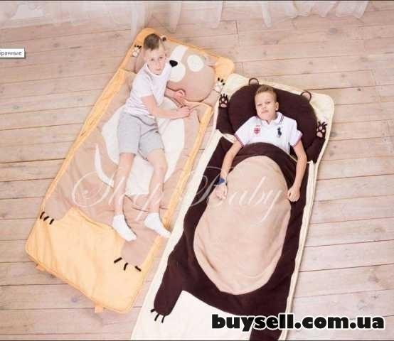 Спальный плед-конверт Мишка для детей (есть размеры) изображение 3