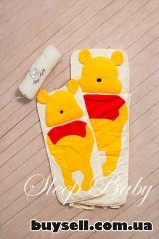 Спальный плед-конверт Винни-Пух детям (размеры любые) изображение 3