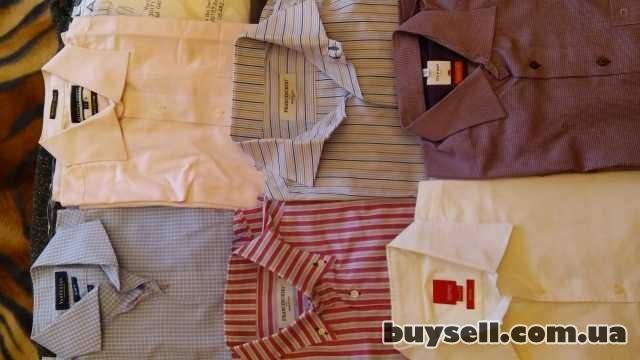 Фирменные мужские рубашки,    б/у. изображение 3