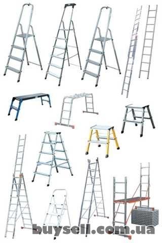 Лестницы алюминиевые аренда. Стремянки, лестницы. Аренда, Донецк.