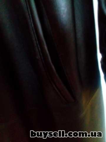 Продаётся кожаный плащ пальто изображение 2