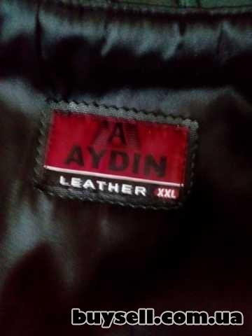 Продаётся кожаный плащ пальто изображение 5