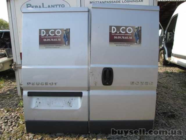 Дверь задняя Fiat Ducato 2006-2013 Двери задние Фиат Дукато