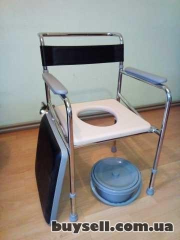 стул-кресло-туалет \нержавейка\с регул. по высоте(новый) для инвалидов
