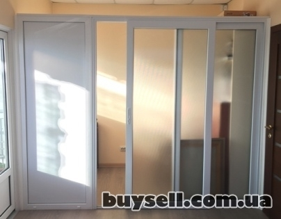 Раздвижные пластиковые двери и окна по доступной цене. изображение 2