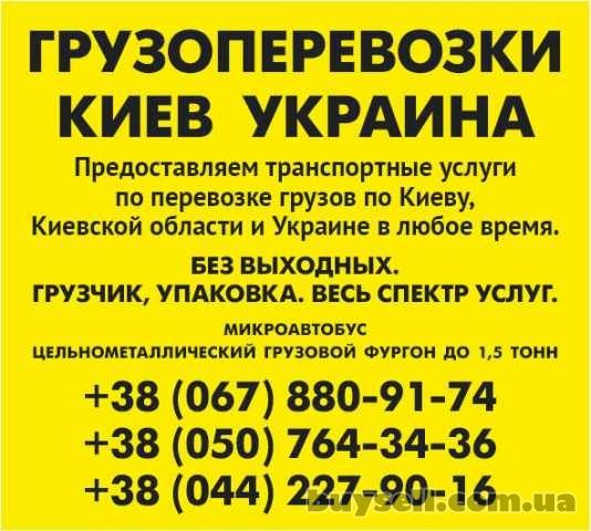 Заказать Газель 1, 5 тонн Киев область Украина грузчик ремни изображение 2