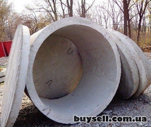 Железобетонные/бетонные кольца,    крышки,    днища от производителя изображение 4