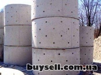 Железобетонные/бетонные кольца,    крышки,    днища от производителя