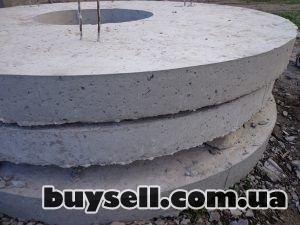 Железобетонные/бетонные кольца,    крышки,    днища от производителя изображение 3