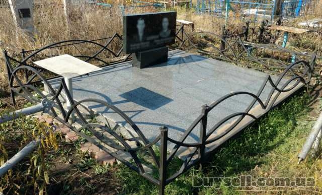 Оградки на кладбище,   Оградки для могил,   Ритуальные ограждения. изображение 4
