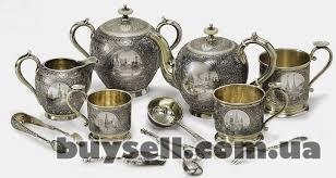 Купим старинные и современные  изделия из серебра.