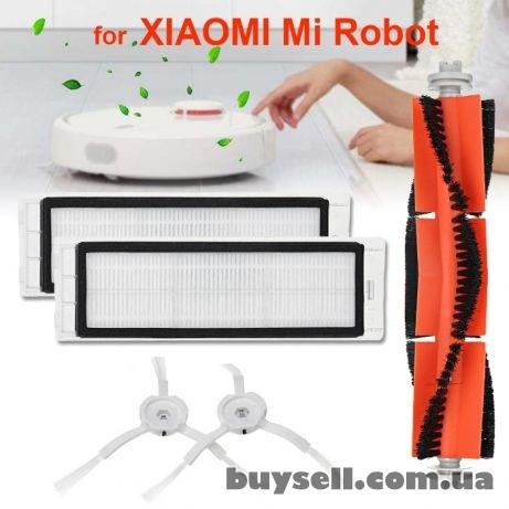 Набор для пылесоса Xiaomi Robot- Hepa фильтр основная и боковая щетки ae12a36399b14