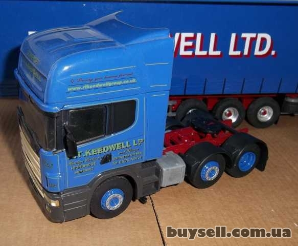 Модель 1/43 Scania 124L 420,  6x2, Eligor-Search Impex изображение 5