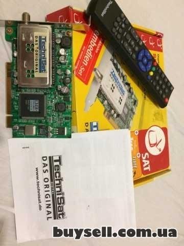 PCI плата TechniSat SkyStar 2 TV Cпутниковый DVB ресивер для ПК изображение 3