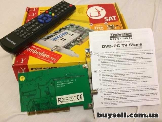 PCI плата TechniSat SkyStar 2 TV Cпутниковый DVB ресивер для ПК изображение 4