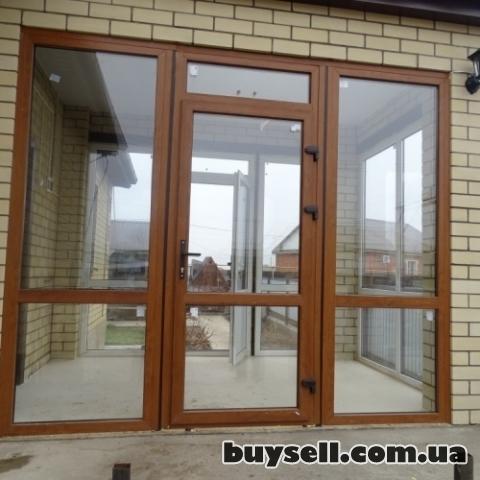 Двери металлопластиковые.  Входные и межкомнатные.  Недорого. изображение 3