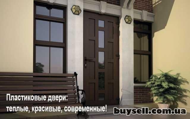 Двери металлопластиковые.  Входные и межкомнатные.  Недорого. изображение 4
