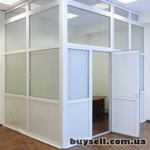 Пластиковые офисные перегородки.  Недорого. изображение 4
