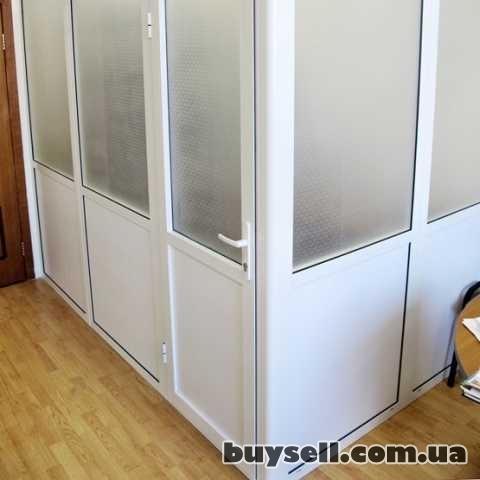 Пластиковые офисные перегородки.  Недорого. изображение 2