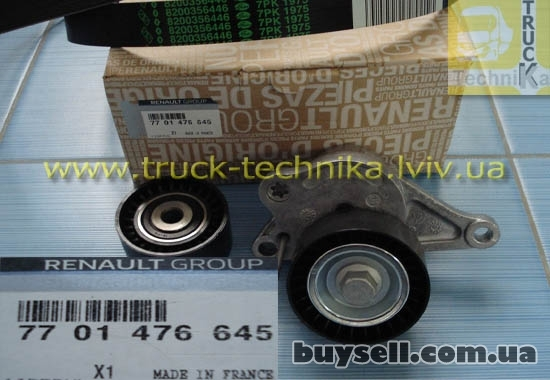 Комплект ремня генератора Opel Vivaro, Renault Master, Trafic 11720938