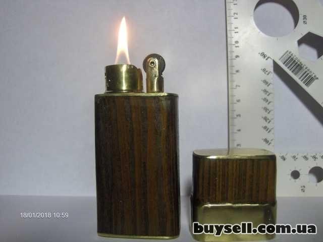 Зажигалка бензиновая настольная ручной работы изображение 2