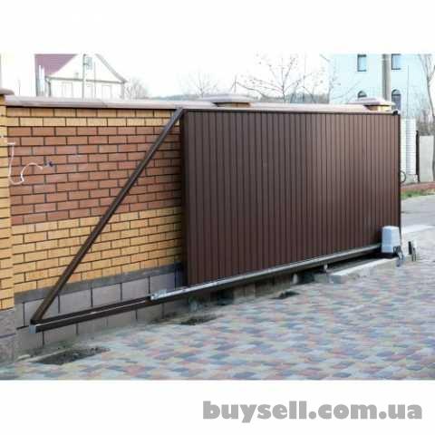Производство и установка откатных ворот Запорожья. изображение 3