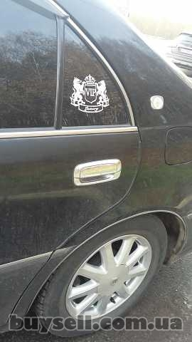 Наклейка на авто VIP Белая светоотражающая Тюнинг изображение 5