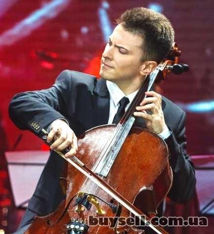 Скрипач,  виолончелист,  на торжество,  Киев. изображение 5