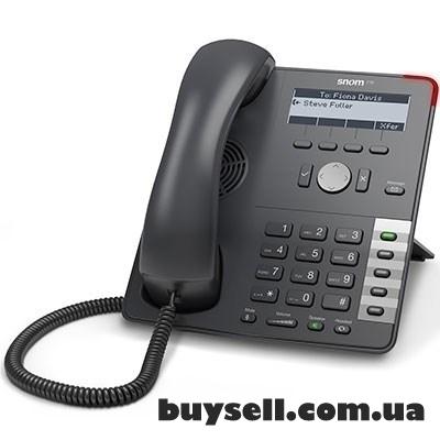 Snom D710,  sip телефон,  4 линий SIP,  2 Ethernet порта RJ45