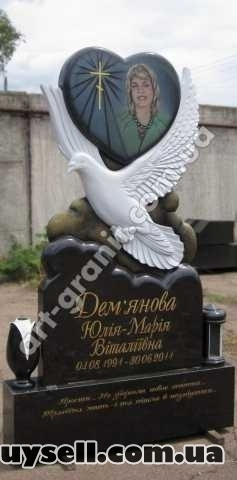Ексклюзивні пам'ятники з граніту.  Арт-Майстерня Богдана Пшеченка изображение 4