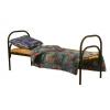 Кровати металлические с деревянными спинками для пансионата,  кровати