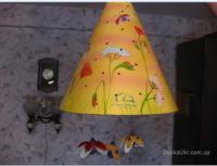 Новый фирменный  светильник для детской комнаты.