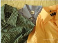 Фирменные мужские рубашки,    б/у.