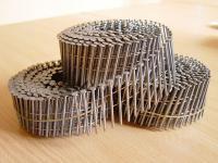 Гвозди на бобинах ершеные 40,   50,   60,   70,   80,   90 мм - для па