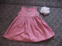 супер красивое нежное платье с зайками mothercare на 9-12 мес