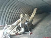 Зернохранилища фермерского типа - стальные арочные зерносклады