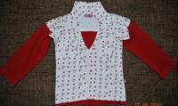 Продам б/у футболку ТМ «Mix» с длинным рукавом на девочку